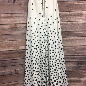 Jessica Simpson Dresses - Jessica Simpson Black and White Polka Dot Dress